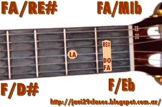 acorde guitarra chord (FA con bajo en MIb o RE#)