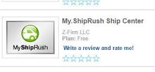 ShipRush Shipping Manager and Label Processing tool