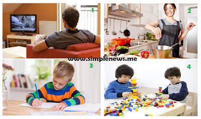 cerita bergambar kegiatan aggota keluarga www.simplenews.me