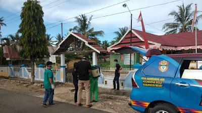 Antisipasi Corona, Pemerntah Desa Sanreseng Ade Gandeng Pemuda