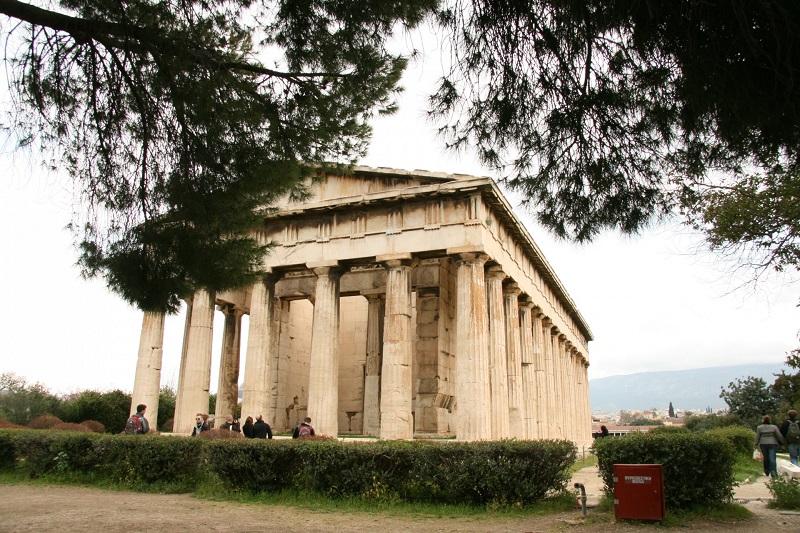 O Templo de Hefesto
