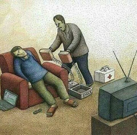 Televizyon izlemek insana zarar verirmi?