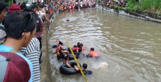 Prank Ulang Tahun, 2 Remaja Tewas Tenggelam di Underpass