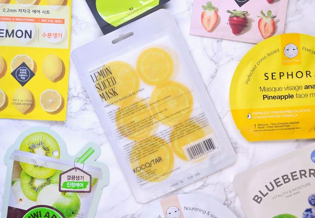 Kocostar Lemon Sliced Mask Review