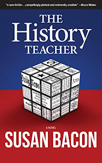 The History Teacher - riveting political thriller by Susan Bacon