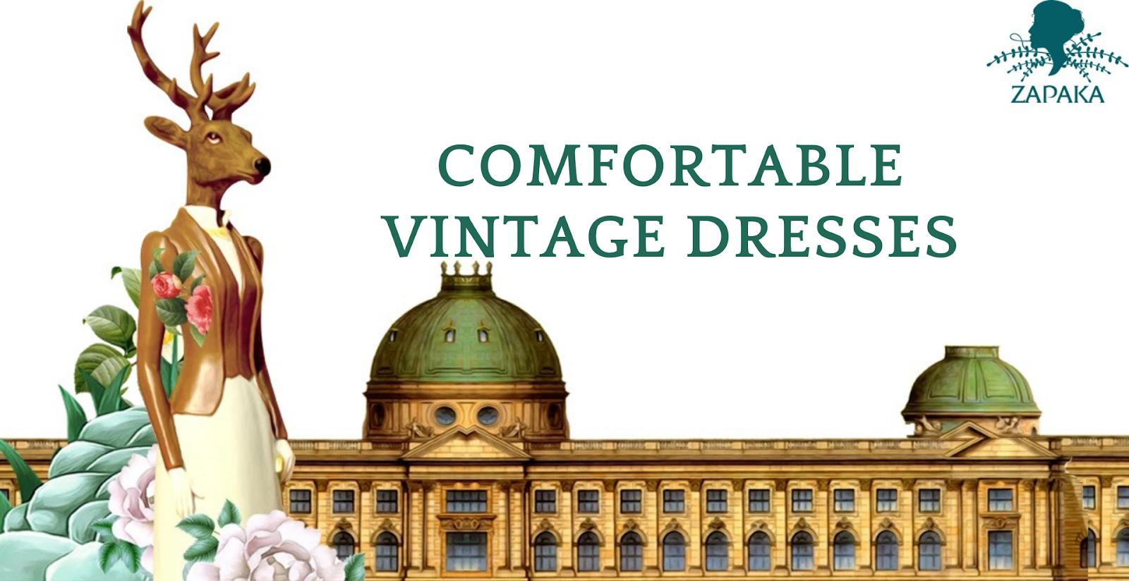 comfortable vintage dresses