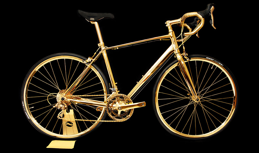 24K-GOLD-MEN'S-RACING-BIKE