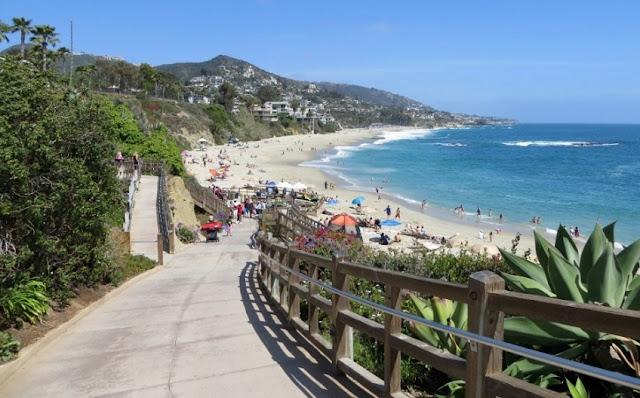Praia Treasure Island Beach em Laguna Beach