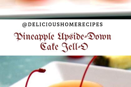 Pineapple Upside-Down Cake Jell-O #christmas #cake