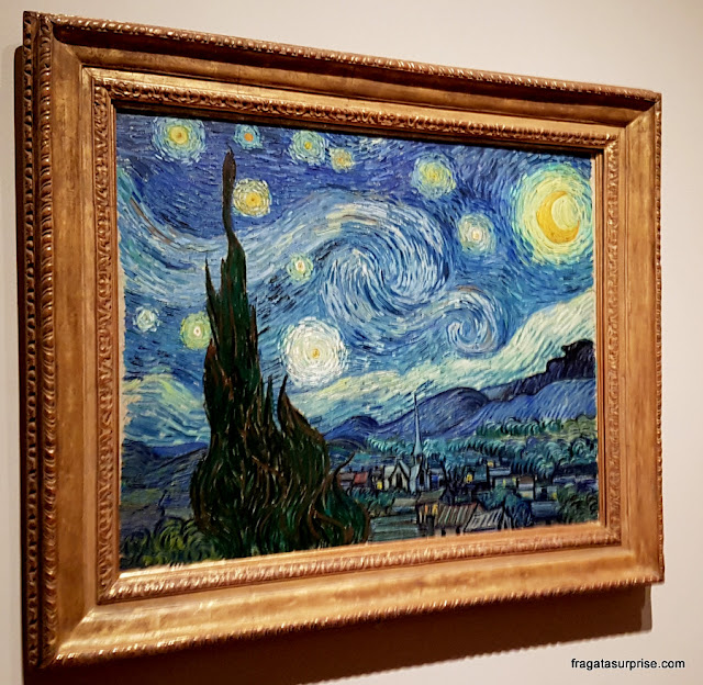 Noite Estrelada (Starry Night), de Van Gogh - MoMA, Nova York