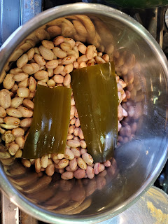 Beans & Kombu in Instant Pot