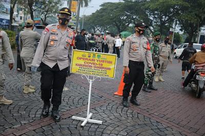 Polresta Tangerang bersama Pemkab dan Kodim Tigaraksa Gelar Operasi Yustisi Gabungan