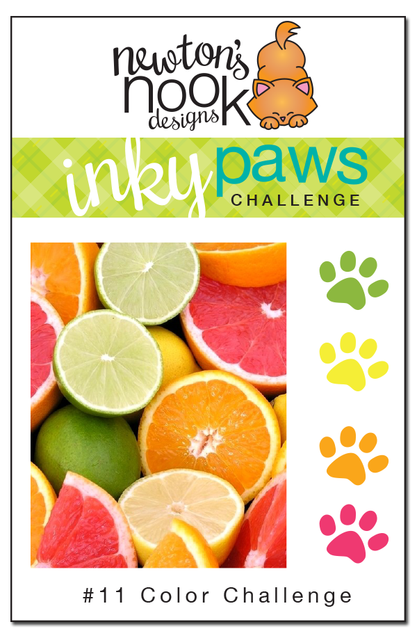 Inky Paws Challenge #11 - Color Challenge
