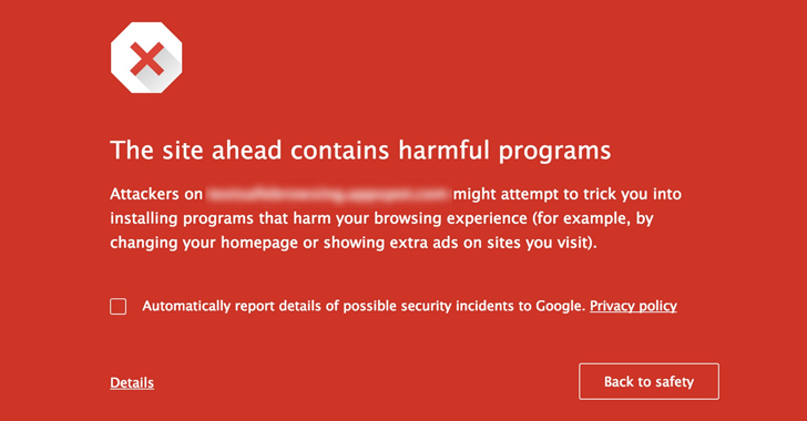 Google Safe Browsing For A Quick Malware Check