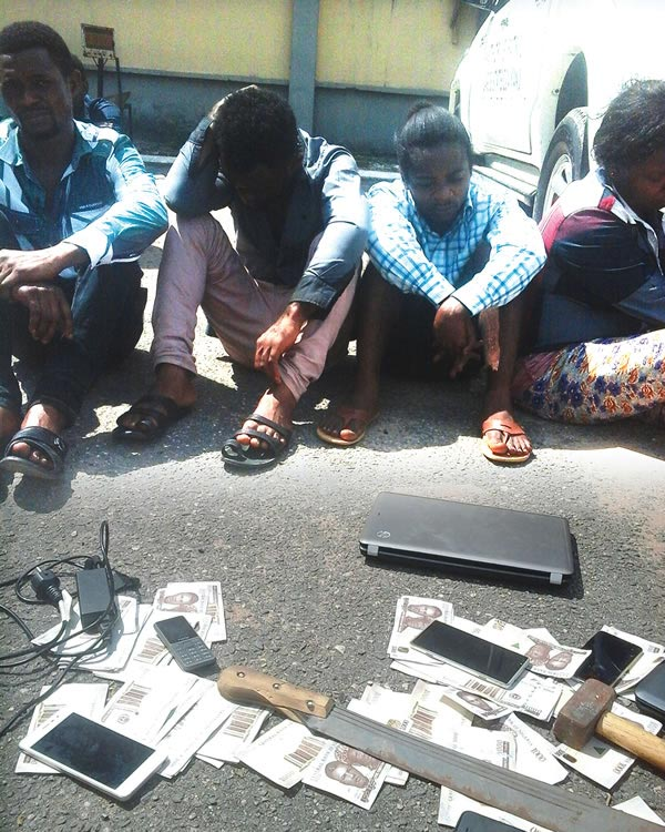 Police nabs two brothers who produce fake naira notes in Lagos