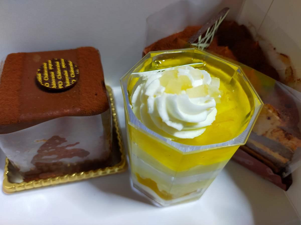 シャトレーゼのケーキ。