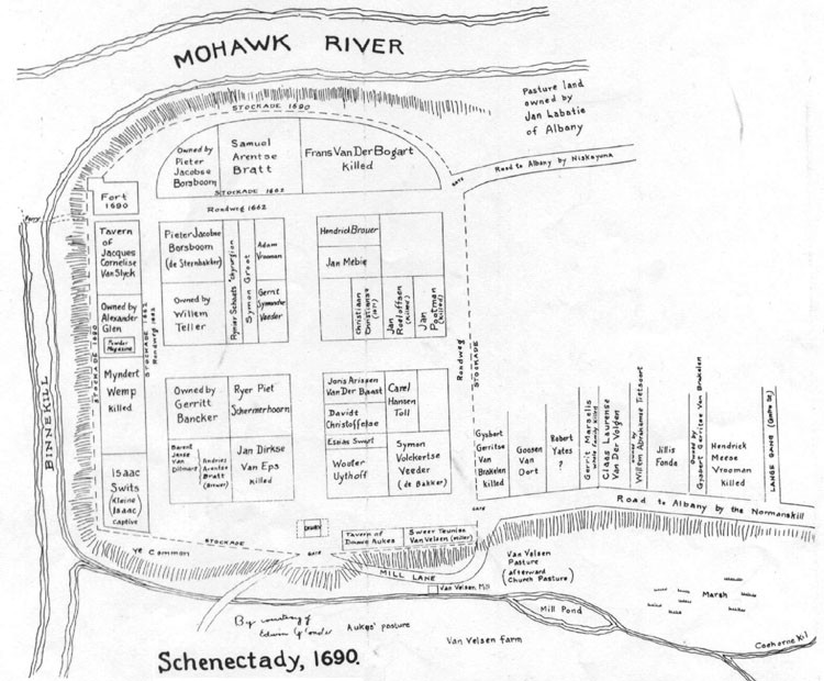 Schenectady New York Map.Hendrick Vrooman Family Being Celebrated The New York History Blog