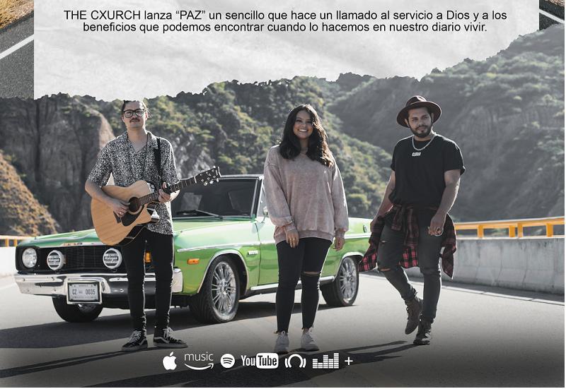 """THE CXURCH Ianza """"PAZ"""" Su nuevo sencillo"""