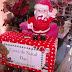 Caixinhas de natal fazem alegria de funcionários do comércio