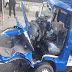 Villa Alemana.Conductor de camión repartidor de gas se encuentra grave tras chocar con una micro