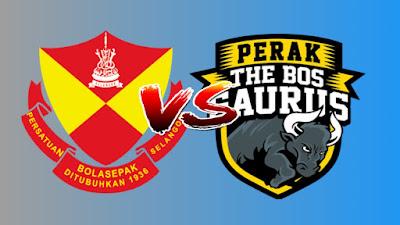 Live Streaming Selangor vs Perak Liga Super 12.4.2019
