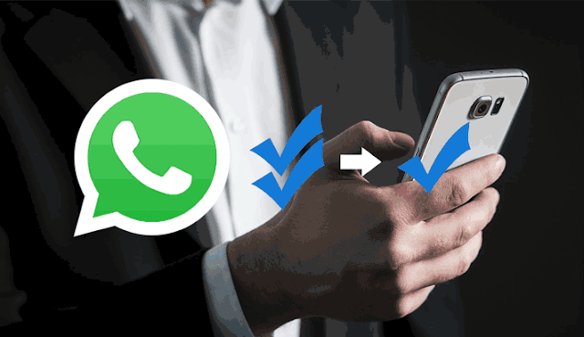 we can disable double tick on Whatsapp