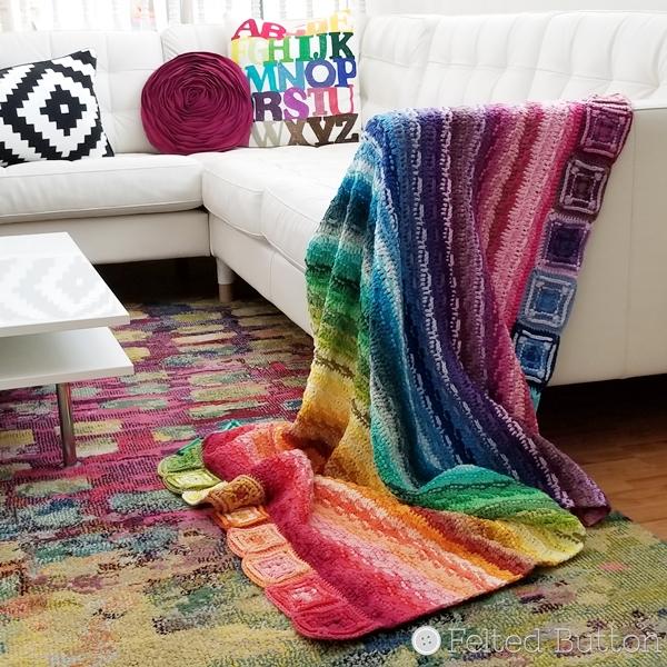 Every Bit A Blanket - FREE crochet pattern by www.feltedbutton.com