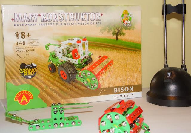 """""""Mały Konstruktor Bison"""" - zabawka do samodzielnego montażu - Alexander"""