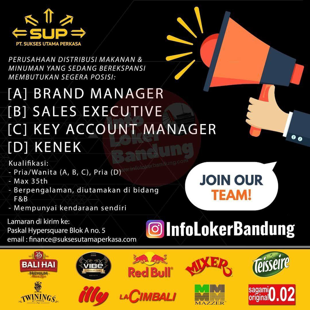 Lowongan Kerja PT. Sukses Utama Perkasa Bandung September 2019