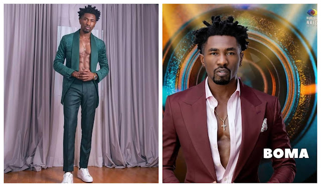 #BBNaija I never had s*x with Tega, we only kissed and romanced - Boma spills