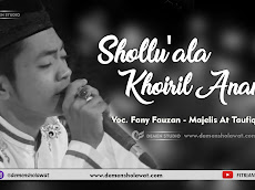 Download Mp3 Shollu'ala Khoiril Anam Versi At Taufiq