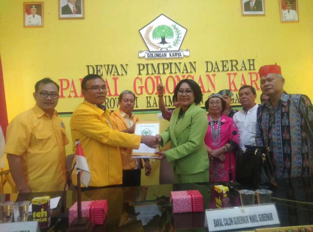 Dra. Alida Handau Lampe, M.Si Mantapkan Diri Maju Pilgub Kalteng 2020