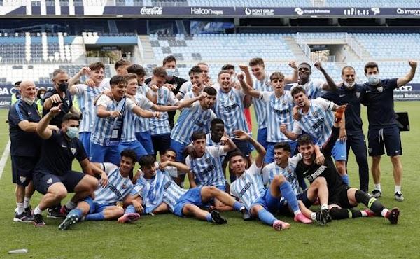 El Málaga - Athletic de Copa de Campeones Juvenil, en abierto por YouTube