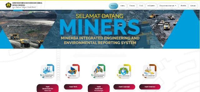 Minerba Online Monitoring System Moms Minerba Miners Indonesia