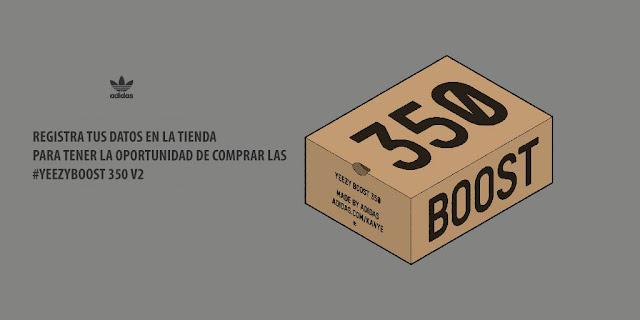 #YEEZYBOOST 350 V2 by Kanye West en #TiendaFitzrovia