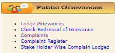 Public Grievance