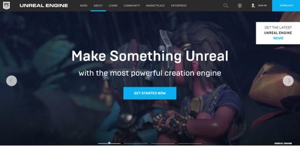 Aplikasi Untuk Membuat Game Android - Unreal Engine 4
