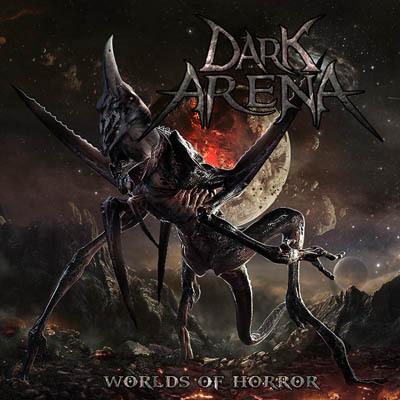 """Ο δίσκος των Dark Arena """"Worlds of Horror"""""""