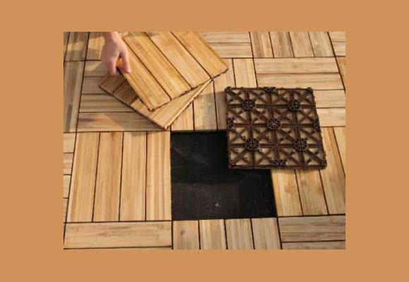 Marzua suelos de baldosas de madera - Baldosas de madera para jardin ...