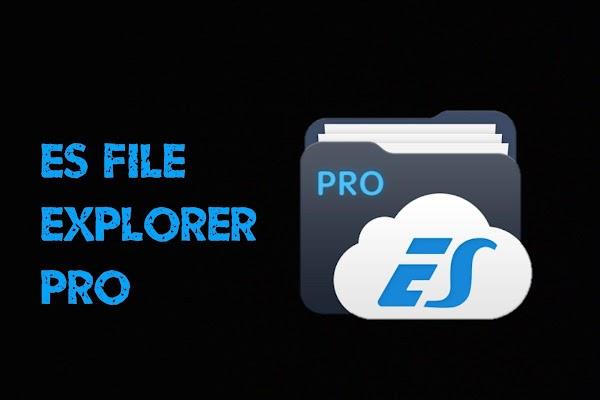 ES File Explorer Pro 1.1.4.1 MOD [Patched]