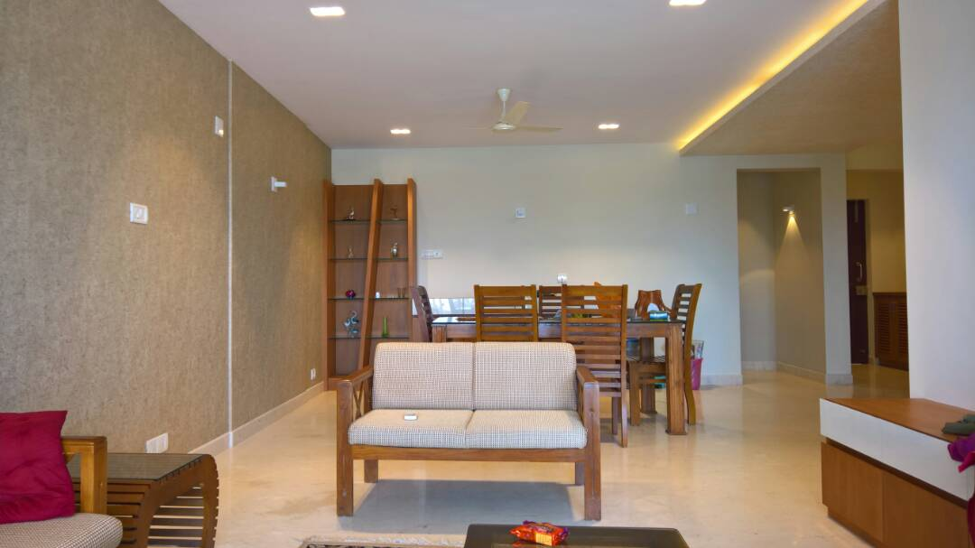 3bhk Fully Furnished Waterfront Flat For Rent In Marine Drive Kochi Rs 45k