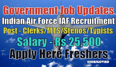 IAF Recruitment 2021