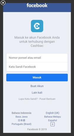 Referral Code Cashbac 2020 - Dapatkan Saldo Rp50.000