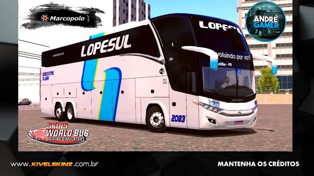 PARADISO G7 1600 LD - VIAÇÃO LOPESUL