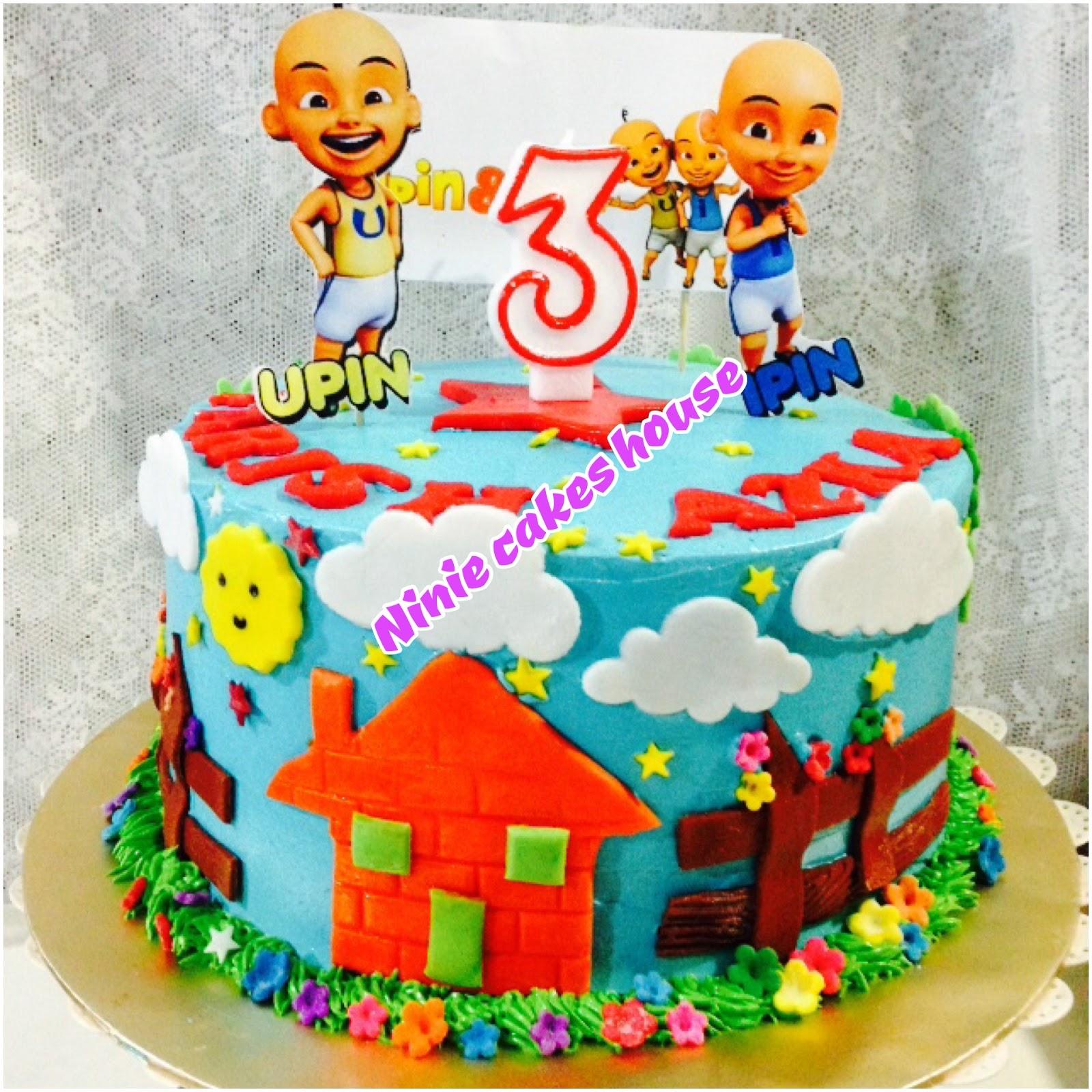 Ninie Cakes House: Upin & Ipin Birthday Cake