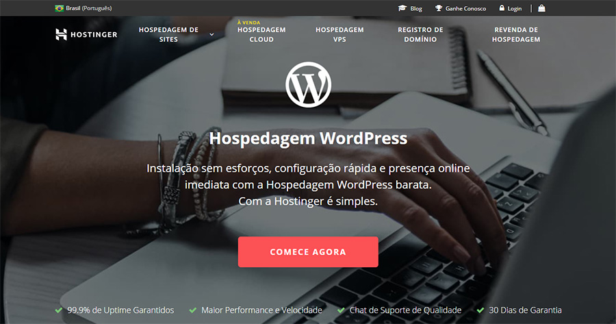 Hospedagem de sites - Weblink ⚙ Hostinger