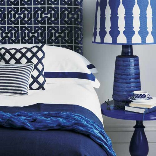 Bedroom Decorating Ideas In Blue Bedroom Decorating Ideas Blue Beige Carpet Bedroom Master Bedroom Carpet: Baby Green: Monday Color: Cobalt Blue