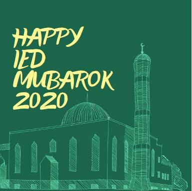 Gambar Ucapan Selamat Hari Raya Idul Fitri 2020 Sarjana Muda