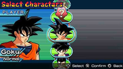 Download Game Dragon Ball Z: Shin Budokai ISO (PSP)