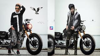 Bike photo editing tutorial | krediting - motorcycle background